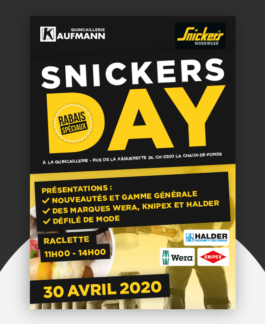 SNICKERS DAY - 30 avril 2020