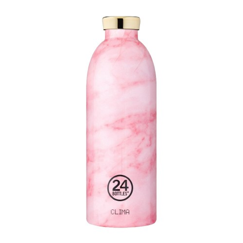Bouteille isotherme 0.85l Pink Marble - 24 Bottles
