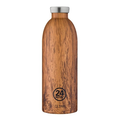 Bouteille isotherme 0.85l Sequoia Wood - 24 Bottles