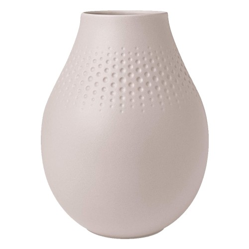 Vase Pearl beige Manufacture Collier