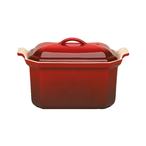 Terrine rectangulaire, poterie - Le Creuset