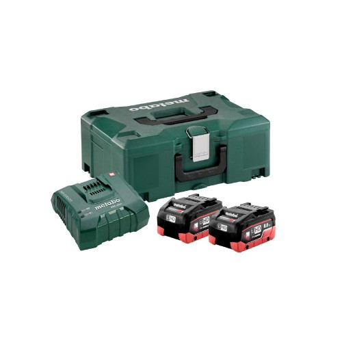 Set de base à accu 18 V - 2x - Metabo