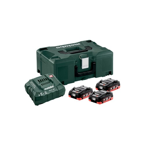 Set de base à accu 18 V - 3x - Metabo