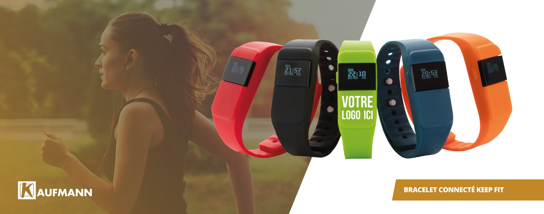 BRACELET CONNECTÉ KEEP FIT